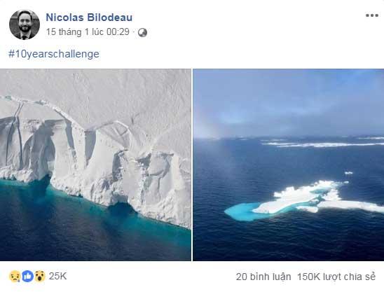 Băng tan ở hai cực