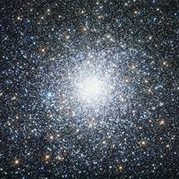 Sự thực thú vị về Messier 75, cụm sao hình cầu NGC 6864