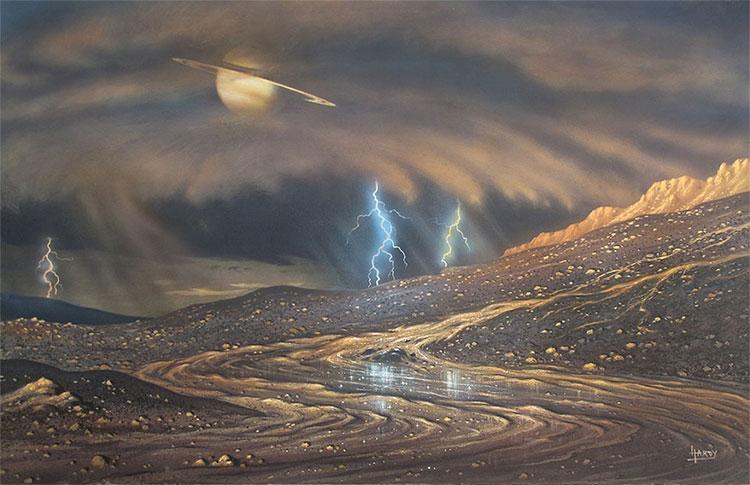 Mưa trên Titan