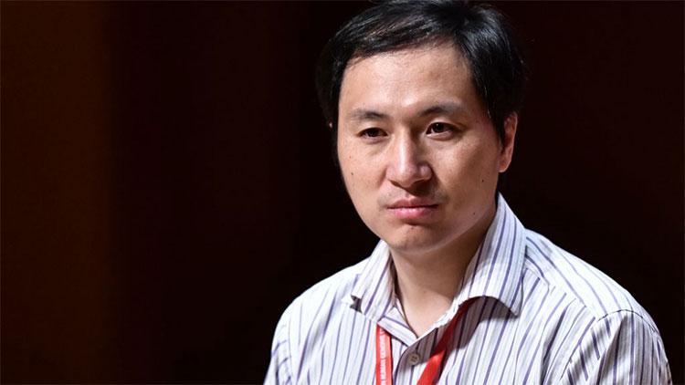 Nhà khoa học He Jiankui.