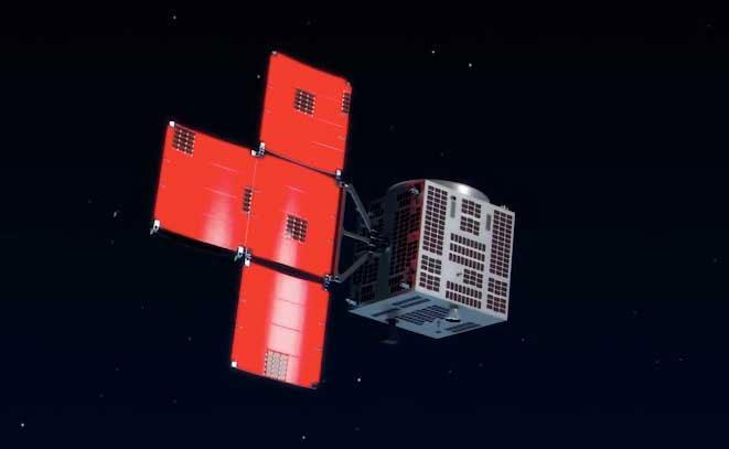 Vệ tinh MicroDragon đã bay vào quỹ đạo và thực hiện nhiệm trong không gian.