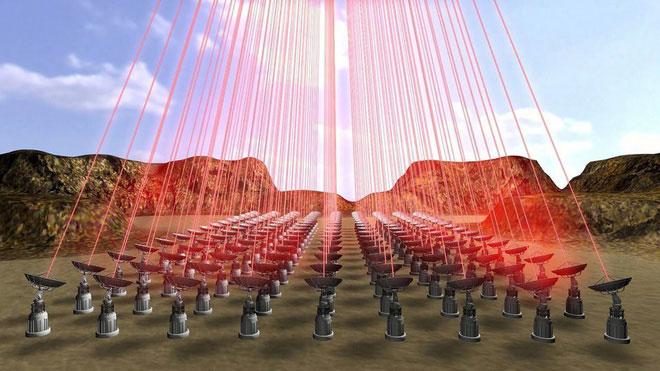 """Hệ thống laser sẽ cực mạnh, đủ khả năng để """"đốt cháy cả một thành phố trong vòng vài phút""""."""