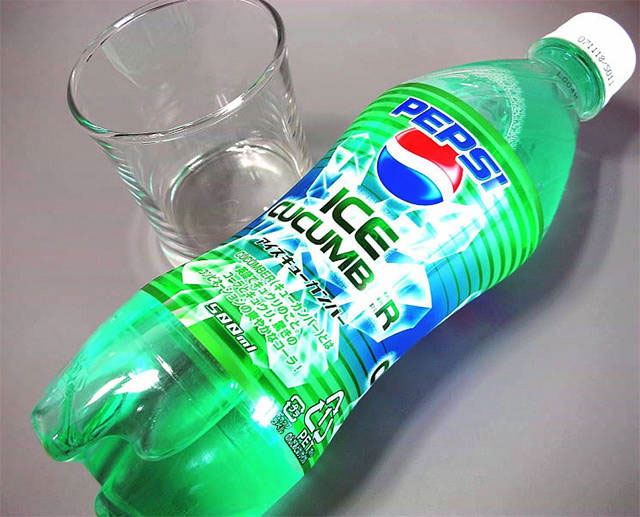 Pepsi vị dưa chuột