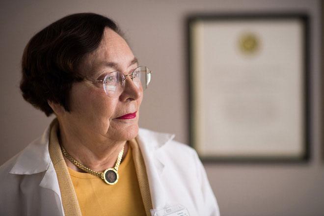 Nhà thần kinh học Nancy Andreasen.