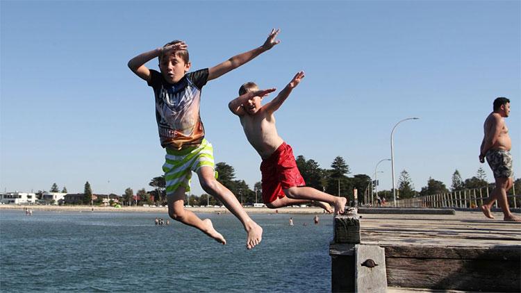 Nhiều khu vực của Australia đang trải qua đợt nắng nóng kỷ lục.