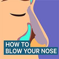 Hướng dẫn xì mũi đúng cách để không gây điếc tai, viêm xoang