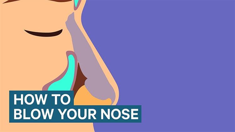 Nếu xì mũi không đúng cách có thể sẽ gây điếc tai.