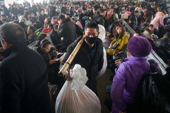 Mùa xuân vận với người dân Trung Quốc chưa bao giờ là một mùa êm ả
