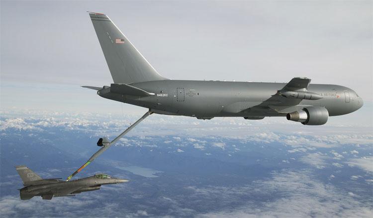 Tiếp nhiên liệu trên không sẽ rất khó khăn nếu như máy bay đang ở địa phận của một nước khác.