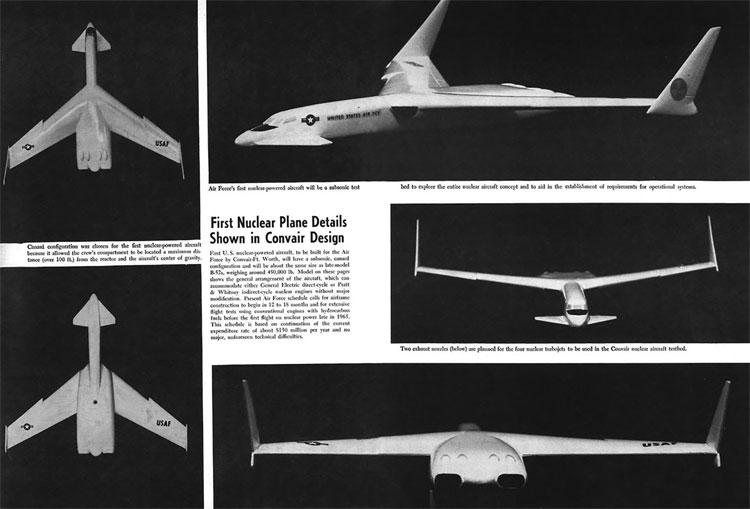 Chỉ một tai nạn cũng có thể biến chiếc máy bay nguyên tử trở thành một cục kim loại nóng chảy khổng lồ.
