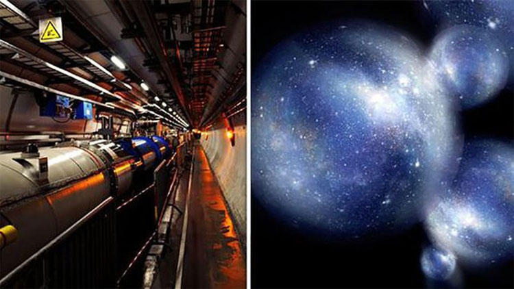 Tổ chức Nghiên cứu Hạt nhân châu Âu (CERN) đang kì vọng sẽ mở thông cánh cửa với vũ trụ lân cận.