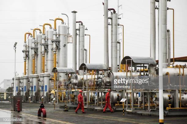 Một nhà máy năng lượng của Trung Quốc.