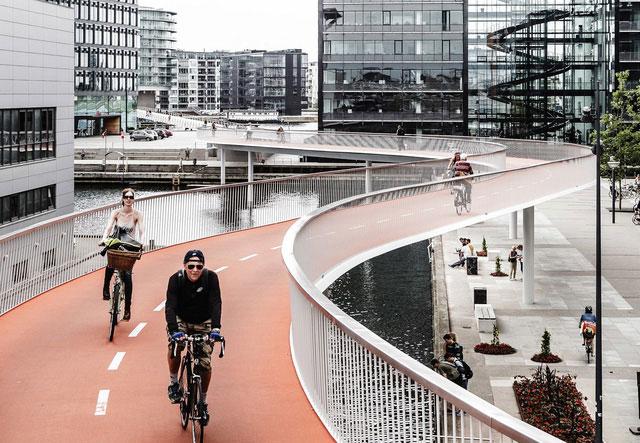 Hiện tại có 675.000 xe đạp, gấp hơn 5 lần số lượng ô tô ở Copenhagen.