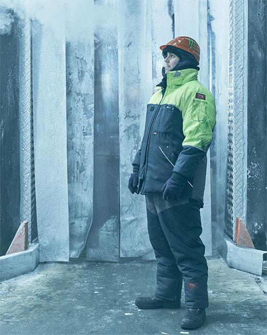 Matt Bennett, 26 tuổi, trưởng nhóm tủ đông công nghiệp, Kho lạnh Chiltern, Peterborough, Anh