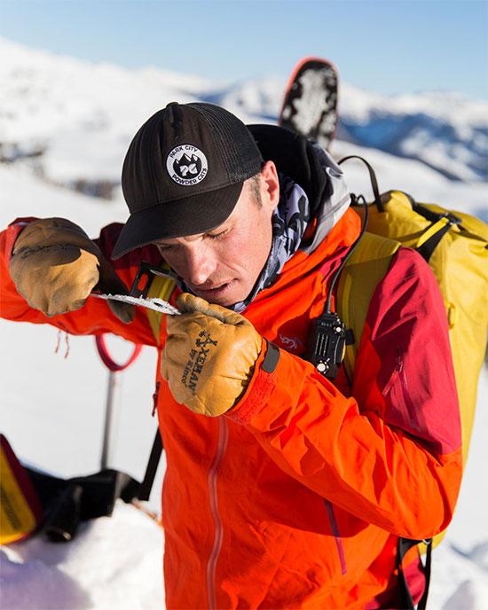 Jimmy Tart, 41 tuổi, người kiểm soát trượt tuyết và cảnh báo tuyết lở ở Utah, Mỹ,