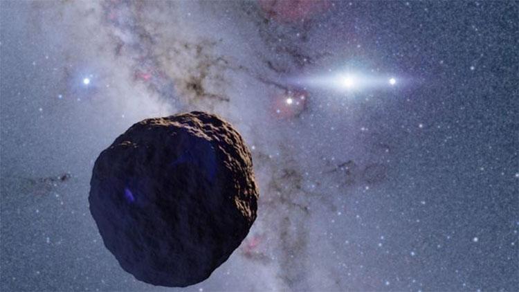 Hình ảnh mô phỏng về vật thể mới được tìm thấy thuộc Vành đai Kuiper.