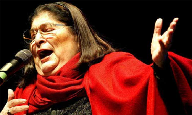 Mercedes Sosa nổi tiếng khắp châu Mỹ Latinh và nhiều quốc gia ngoài khu vực khi hát những bài hát về tự do.