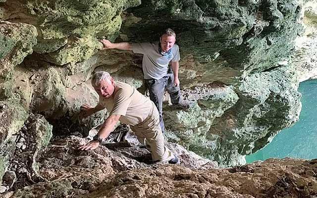 Khu vực hang động phát hiện ra loài sinh vật mới.
