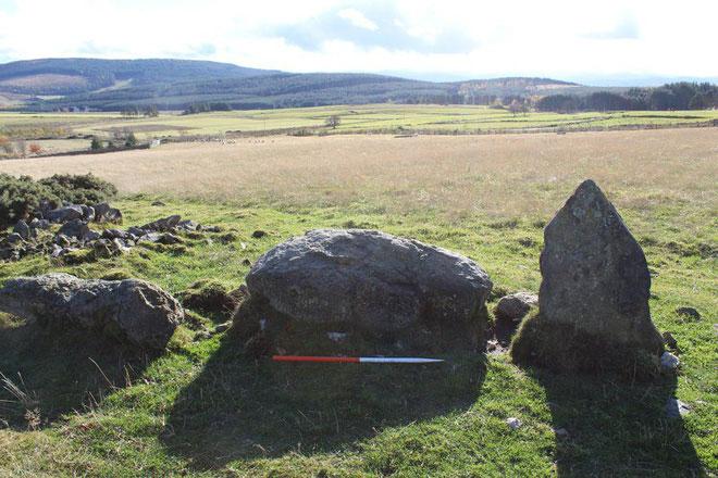 Quan sát kỹ mấy viên đá, các nhà khoa học có phát hiện những dấu hiệu cho thấy viên đã mới xô lệch.
