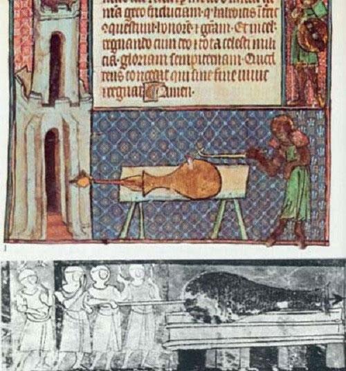 Khẩu pháo đầu tiên ra đời từ thế kỷ XIII.