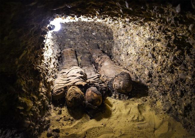 Đây là phát hiện khảo cổ đầu tiên trong năm 2019 của Bộ Cổ vật Ai Cập