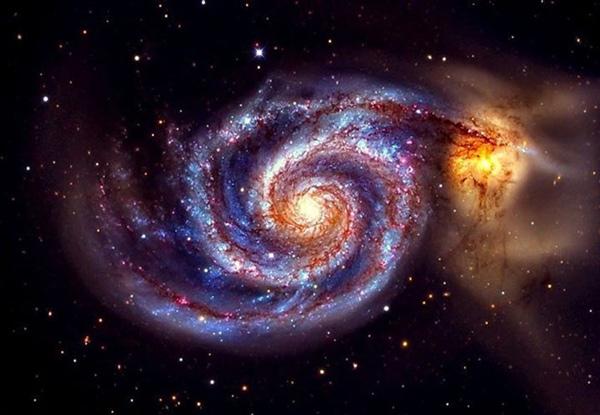 Đến tận năm 1845, người ta mới nhận ra thiên hà này có cấu trúc xoắn ốc