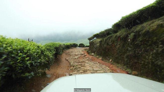 Hành trình tới Kolukkumalai - một khu vực có nhiều hoa Neelakurinji bao phủ, cũng là nơi được cho là có nhiều đồn điền chè ở độ cao cao nhất thế giới - là một nơi khó đến