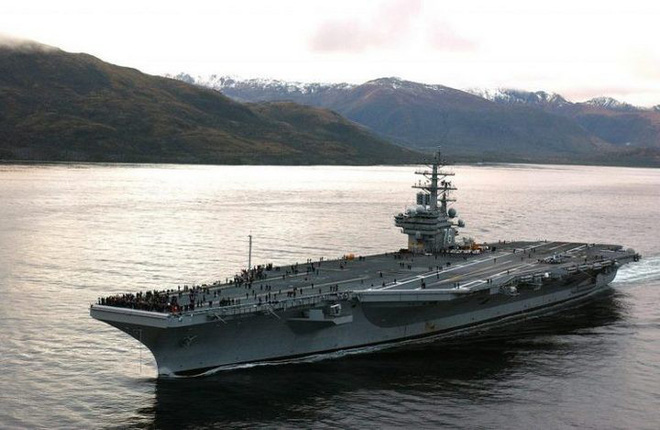 Tàu sân bay Ronald Reagan thuộc lớp Nimitz