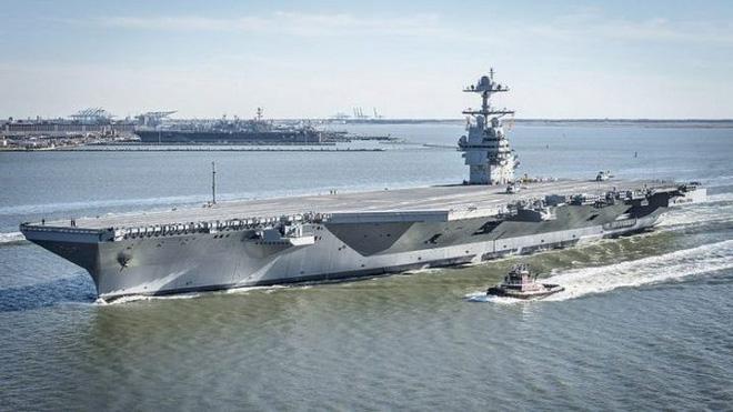 Tàu sân bay USS Gerald R. Ford