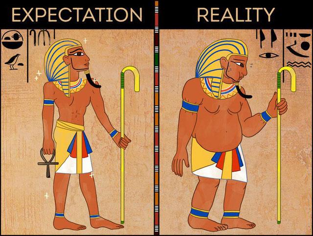 Pharaoh rất dễ bị béo phì
