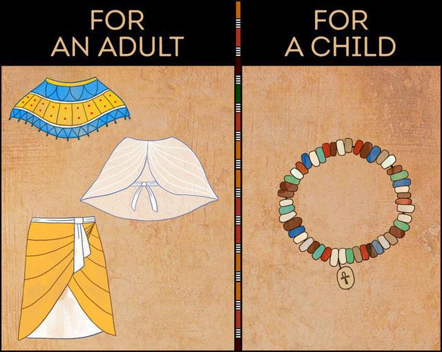 Trẻ con không bao giờ mặc quần áo