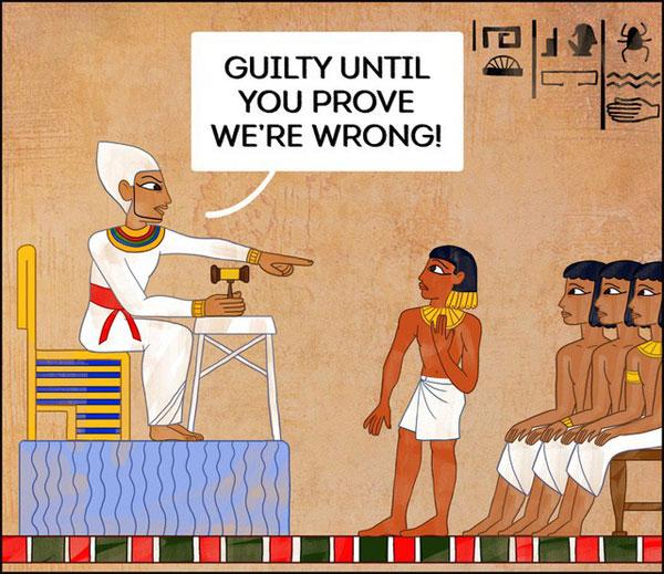 Cứ bị tố cáo là có tội