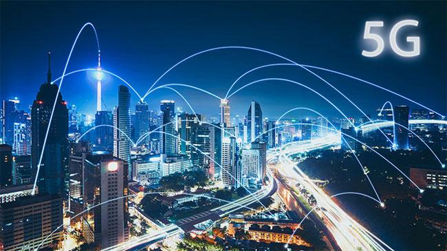 Mạng di động 5G bắt đầu được thử nghiệm vào năm 2017.