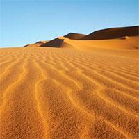 Nước nào có 90% diện tích lãnh thổ là sa mạc?