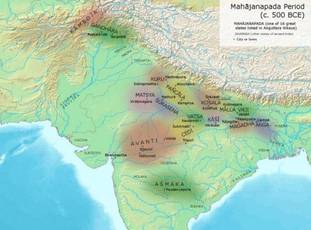 Vương quốc Grandhara nằm giữa khu vực 2 nước Pakistan và Afghanistan ngày nay.