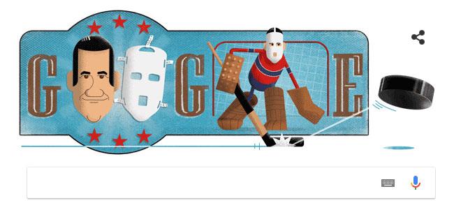 Ngày 12/2, Google đổi Doodle nhằm vinh danh Joseph Plante.