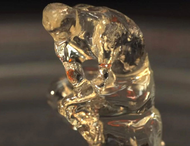"""Pho tượng """"Người suy tư"""" trứ danh của Rodin đã được in 3D."""