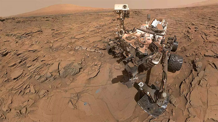 "Ảnh ""selfie"" của Curiosity Mars Rover trên Sao Hỏa"