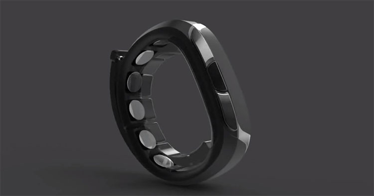 Vòng đeo tay của NeoSensory sẽ rung trên da theo những khuôn mẫu tín hiệu nhất định.