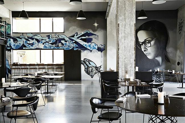 Khu phức hợp nhà hàng của Copenhill được thiết kế đầy phong cách.