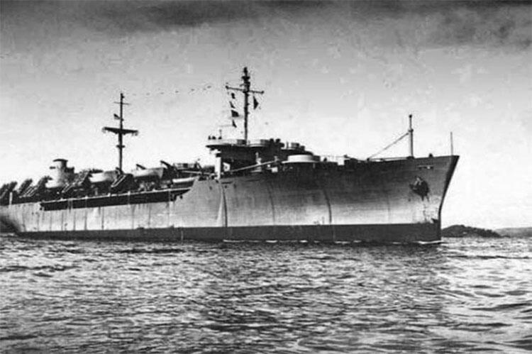 Tàu SS Ourang Medan của Hà Lan.