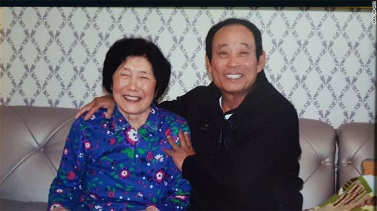 Hai vợ chồng bà Kim Sin-yeol đến sống tại quần đảo từ năm 1991