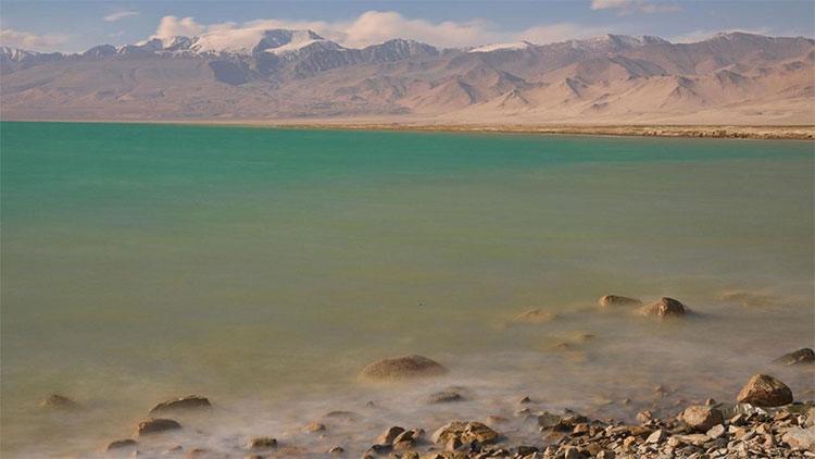 Khu vực hồ Karakul là một trong những nơi khô nhất Trung Á.