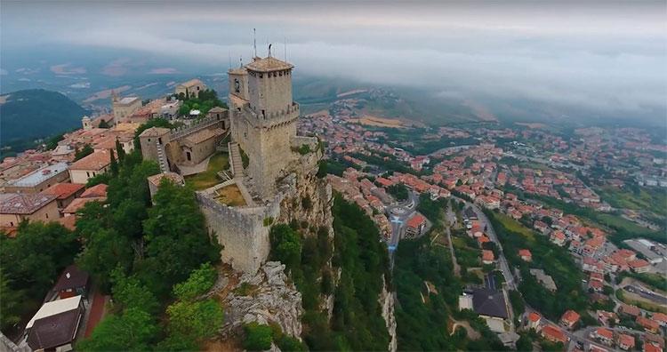 Một góc San Marino.