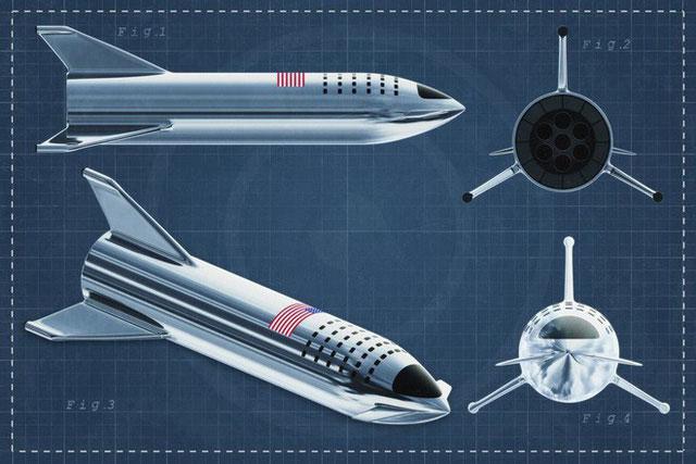 Thiết kế tàu Starship mới sẽ gạt đi những lo âu hệ thống cũ mang lại.