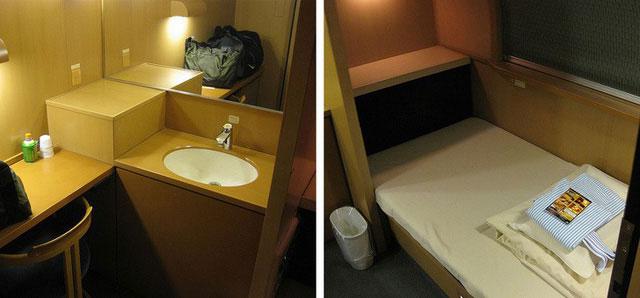 Sunrise Express không có ghế ngồi bình thường mà toàn là giường nằm