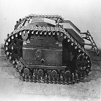 Mìn di động Goliath: Món đồ chơi chết người của lính Đức