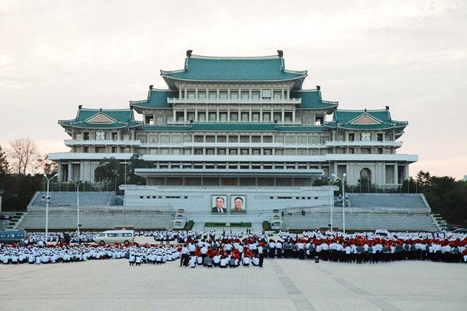 Quảng trường lớn nhất của Triều Tiên nằm ở thủ đô Bình Nhưỡng tên là gì?