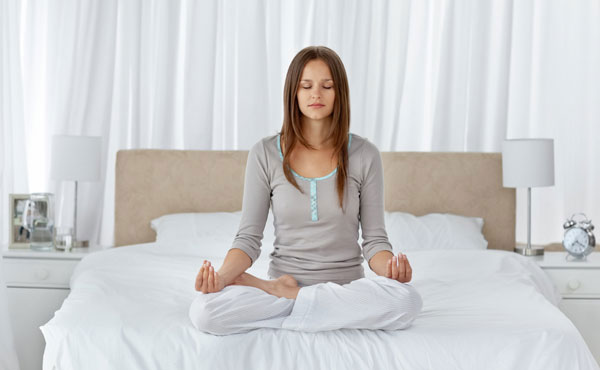 Thiền trước khi ngủ là cách hiệu quả giúp cơ thể chìm nhanh vào giấc ngủ.