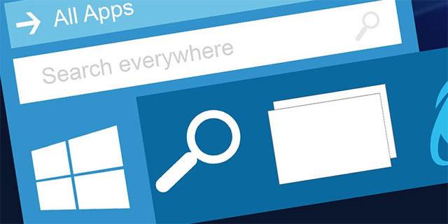 """Chức năng """"Tìm kiếm"""" trong menu Start kém tiện dụng"""